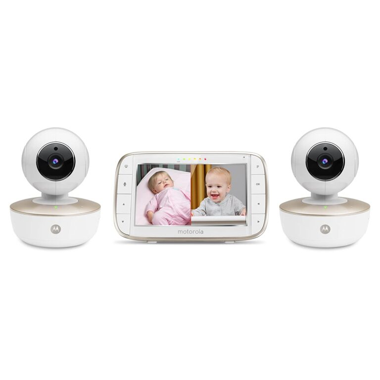 """Motorola MBP855CONNECT-2 Portable 5"""" Video Baby Monitor"""
